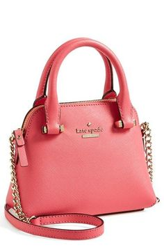 Pretty pink crossbody bag by kate spade