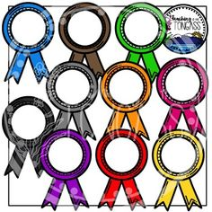 Ribbons Clipart Bundle