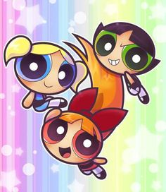 Blossom, Bubbles and Buttercup - The Powerpuff Girls wallpaper . Power Puff Girls Z, Power Girl, Powerpuff Girls Videos, The Powerpuff Girls, Super Nana, Powerpuff Girls Wallpaper, Girls Party, Doctor Who Fan Art, Ppg And Rrb