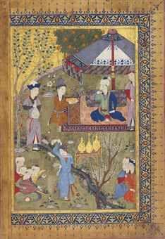 SHIRAZ, IRAN CIRCA 1455-60