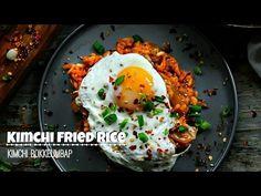KIMCHI FRIED RICE - (Kimchi Bokkeumbap) - YouTube