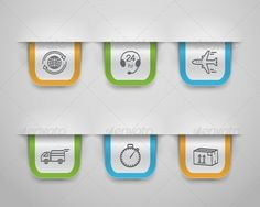 Logistic Icons #GraphicRiver Shipping and logistic bookmarks set vector illustration. Editable EPS and Render in JPG format Created: 5November13 GraphicsFilesIncluded: JPGImage #VectorEPS Layered: Yes MinimumAdobeCSVersion: CS Tags: accuracy #airplane #around #bookmark #box #call #cargo #clock #container #customer #delivery #domestic #fragile #globe #icon #international #location #logistic #package #phone #plane #service #set #shipping #support #telephone #time #transportation #truck…