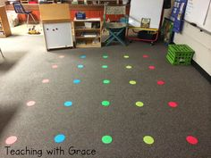 I am so excited to show you this awesome little idea that I used in my classroom. I've been wanting one of those gorgeous and HUGE clas. Classroom Layout, Classroom Organisation, First Grade Classroom, Classroom Projects, Classroom Design, Music Classroom, Kindergarten Classroom, Future Classroom, School Classroom