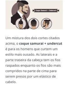 Coque samurai + undercut