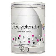 This Beautyblender with cleanser removes excess residue and germs for clean makeup application. It provides the same cleansing results and soothing lavender fragrance as the liquid blender cleanser. Beauty Blender Makeup Sponge, Advanced Skin Care, Mini Makeup, Coffee Health Benefits, Clipart Black And White, Cooking Timer, Face And Body, Cleanser, Things That Bounce