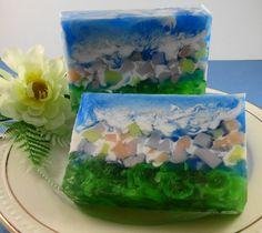 Soap  Spring Floral Breeze Soap  Glycerin Soap  by SoapGarden
