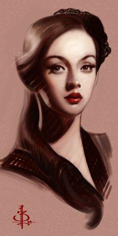 timed head sketch 1143 by FUNKYMONKEY1945.deviantart.com on @DeviantArt