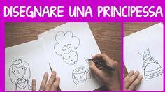 disegnare una principessa