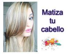 Cómo matizo mi pelo en casa ♡ ACABA CON EL RUBIO POLLO   Sara Bruno - YouTube
