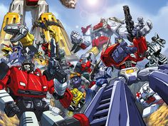 The A to Z of THE TRANSFORMERS - A is for Autobots - Warped Factor - Daily features & news from the world of geek