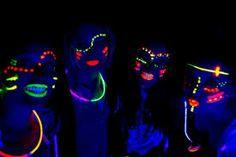 como hacer una fiesta fluor - Buscar con Google