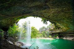 Hamilton Pool, Dripping Springs, Texas. Magical wonder.