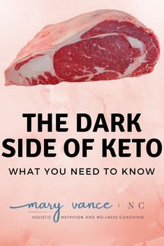 "Have you been seduced by the ketogenic's diets benefits? Quick weight loss, a buff bod, and enhanced cognition are some positives from ""going keto,"" but at what cost? Like everything that's too good to be true, keto has a dark side."