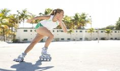 Rollerblading Workout Tips and Tricks.  there is a huge difference between casual skating and working out with a pair of blades. Below we shall cover some of the basic rollerblading workout tips you should keep in mind, and as an added bonus, also discuss one of the best workout routines today. #rollerblades #workout #rollerskates