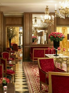Tuileries, Place de la Concorde, Hotel de Crillon