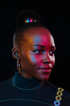 Lupita Nyong'o - For the Stars of 'Black Panther,' Superpowers and Responsibility - The New York Times