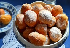 Print Croatian FRITULE (Fritters)  Ingredients 1 egg 1 cup yogurt 1-2 cups flour 1 tsp vanilla 2 tsp baking powder 1 Tbsp rum or brandy 2 Tbsp sugar raisins (optional) Instructions Mix all ingredients. Drop rounded teaspoonfuls of batter in hot oil and fry, 2 or 3 at a time, until golden, about 4-5 [...]