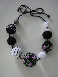 Crochet necklace Monami от Suzann61 на Etsy
