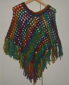 100% wool lady's poncho ref 471 £18.00