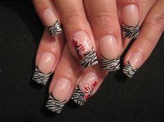 .gorgeous nails weird design