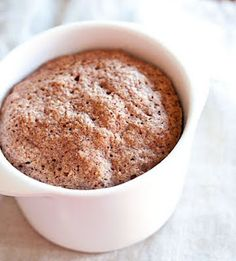 One Minute Low Carb Muffin made with flax seed meal OR almond flour. It is good! I cut way back on the butter. Next time I want to add pumpkin and nutmeg.
