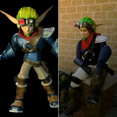 Jak and Daxter cosplay side by side  By undeadtoastycosplay  #jakanddaxtercosplay #jak #jakanddaxter #jak2 #jak2renegade #cosplay #crossplay #cosplayer #crossplayer