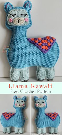 Llama Amigurumi Free Crochet Pattern | freecrochetpattern #freeamigurumi #crochetllama