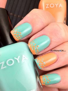 I never post about nails, ever!  but this would make me break my silence.  I like this look, a lot.  alternatively, get me a red and I will rock the santa fe look.