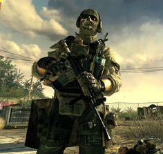 """Call of Duty: Modern Warfare 2 - Simon """"Ghost"""" Riley, Task Force 141 Infinity Ward, Future Soldier, Modern Warfare, Instagram Story Ideas, Black Ops, Call Of Duty, Video Games, Military, Scp"""