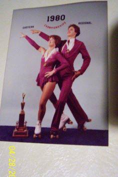 Terrie Hurlburt and John Santini! Roller Skating Pictures, Skate Gif, Skating Rink, Animated Gif, Spinning Wheels, Cherry Hill, Animation, Dance, Baseball Cards