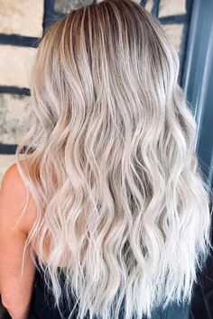 Ash Blonde Long layers ❤ It's difficult to do stylish hairstyles for fine hair. There are various ways to add some pizzazz to your ordinary style. Whether you try a different styling method or product or choose to go for a variation of your cut, you can amp up your hair and fall in love with a hairstyle all over again. #hairstylesforfinehair #lovehairstyles #hair #hairstyles #haircuts