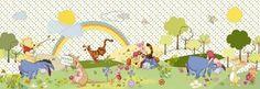 Disney Wall Mural by Komar - Winnie The Pooh Beautiful Day