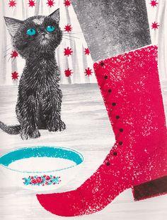 The Valentine Cat, illustrated by Leonard Weisgard