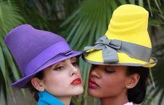 Hats by Fernando Garcia designs Miami Beach Florida fashion