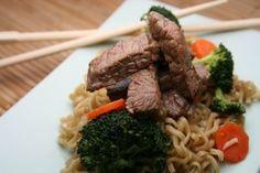 chinese food brocoli and beef