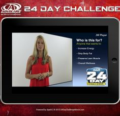 Want to know what the #AdvoCare 24 Day Challenge is all about? Click http://fitntrim.wordpress.com/2013/11/15/the-24-day-challenge-movie/ #24DayChallenge #24dc #CU24