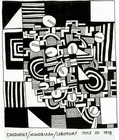 Untitled, 1978  Pen and ink in sketchbook  8 x 10 inches