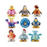 """Disney Club Penguin 8 Pack Assortment – 2"""" Mix 'N Match Figures 
