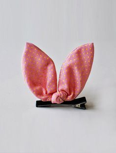The bunny ear hair clip - WUNWAY