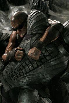 """Vin Diesel as Richard B. Riddick in """"The Chronicles of Riddick"""" (2004)"""