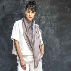 High quality silk scarves and fashion accessories. Silk Art, Scarves, Fashion Accessories, Kimono Top, Collection, Women, Scarfs, Tie Head Scarves