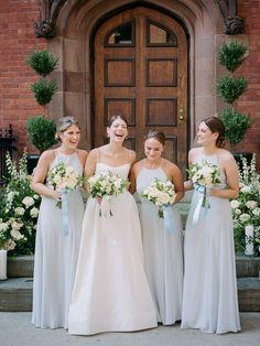 Best Wedding Colors, Blue Wedding, Bridesmaid Dress Styles, Wedding Dresses, Bridesmaids, Got Married, Getting Married, Church Wedding, Big Day