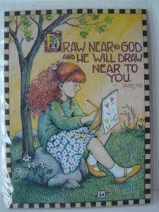 Draw near to God and ...  ~ Mary Engelbreit