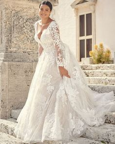 39 Plus-Size Wedding Dresses: A Jaw-Dropping Guide ❤ plus size wedding dresses a line with long sleeves lace sottero and midgley #weddingforward #wedding #bride #weddingoutfit #bridaloutfit #weddinggown
