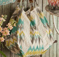 Bohemian Ikat Bags Teal and Mustard - Boho Handbags - Chic Bags ...