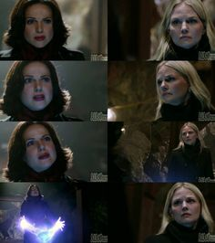 "Regina & Emma in the Mines.. Episode 2x22 ""And Straight On 'Til Morning"" Season 2 Finale"