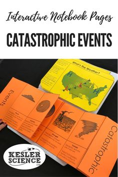 Weather Interactive Notebook Pages Weather Lesson Plans, Weather Lessons, Science Lesson Plans, Science Resources, 6th Grade Science, Middle School Science, Science Notebooks, Interactive Notebooks, Earth And Space Science