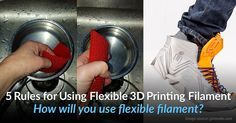 We break down the different types of flexible filament, some of the challenges, and top 5 tips on getting the best 3D print with flexible filament