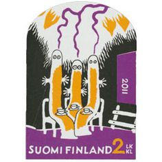 Tove Jansson, Finland, Stamps, Design, Seals, Postage Stamps, Stamp