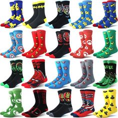 [SALE!] US $1.31 Socks Comic Marvel Gifts Anime Cotton Men Men's Printed Personality Cartoon Women And Marvel Gifts, Athletic Socks, Cool Socks, Ankle Socks, Rubber Rain Boots, Personality, Comic, Cartoon, Printed